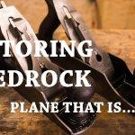 stanley bedrock hand planes