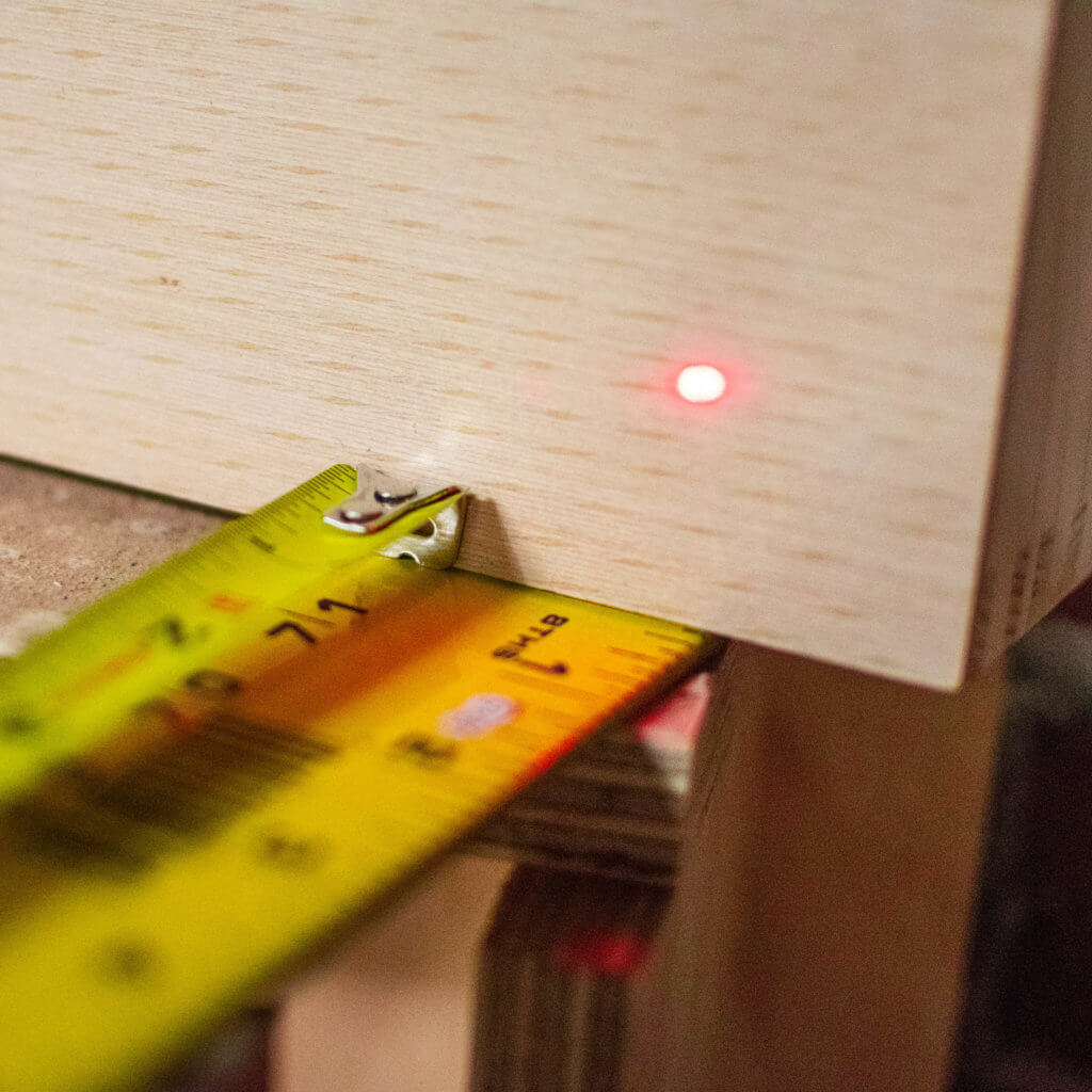 tape measure vs. steel rule vs. laser