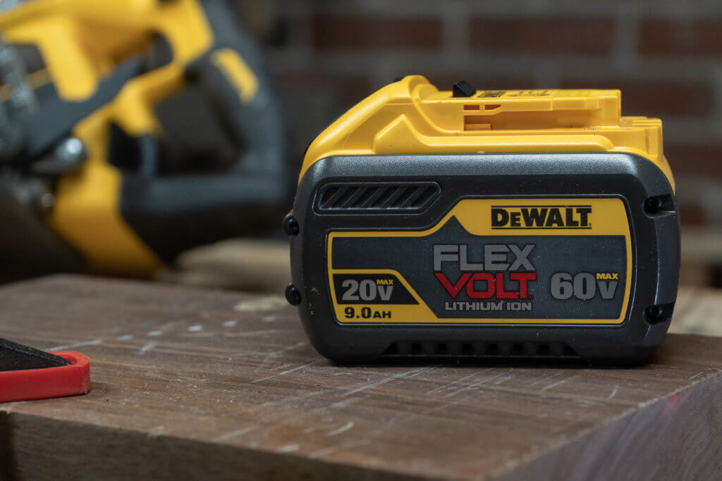 9.0 ah flexvolt 60v 20v lithium ion battery