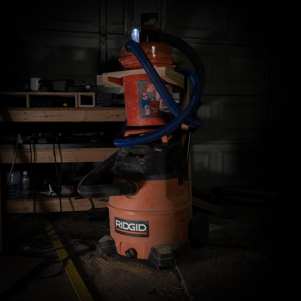 dust topper ridgid 16 gallon shop vac
