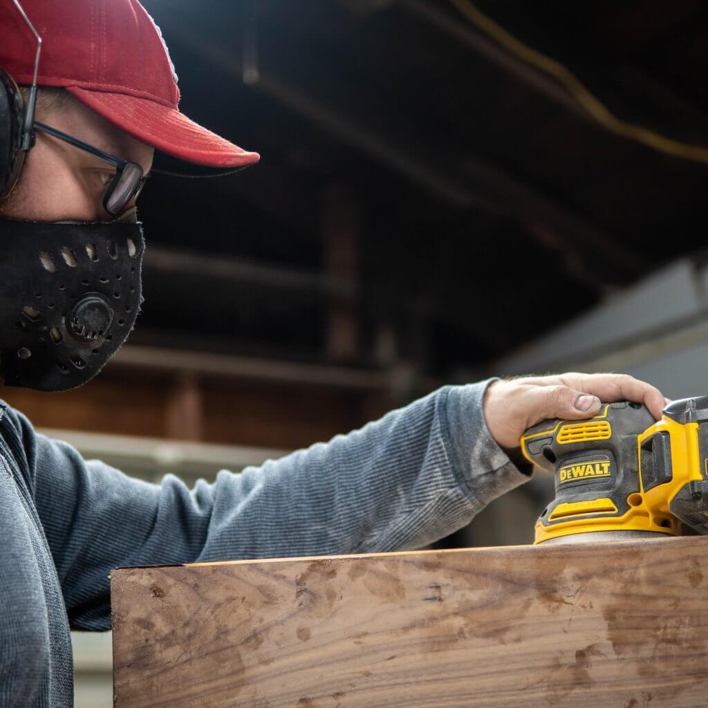 Woodworklife with DeWalt brushless cordless sander
