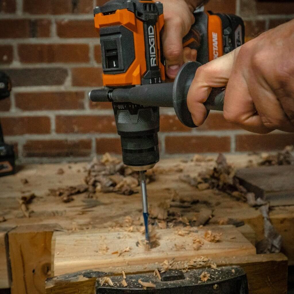 18 volt ridgid octane drill driver