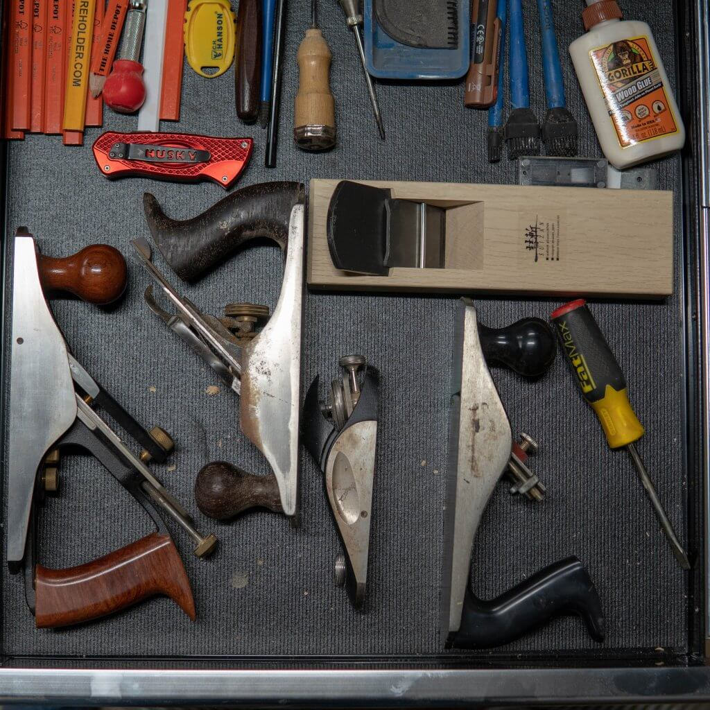 shop drawer organization