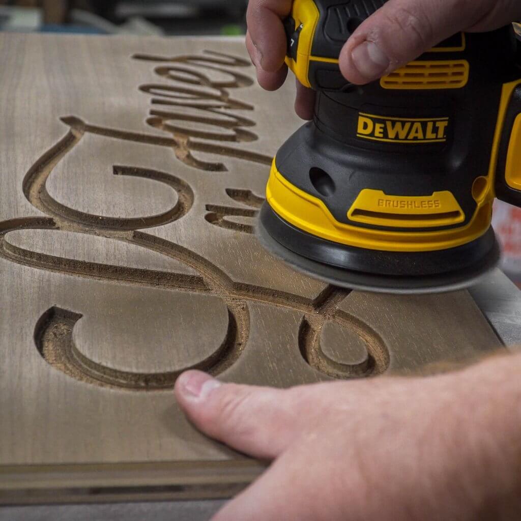 DeWalt cordless brushless sander