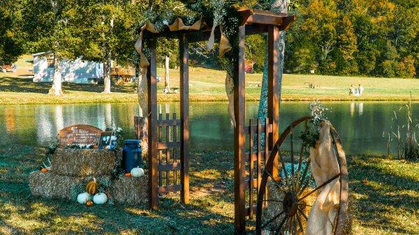 Cedar Wedding Arbor