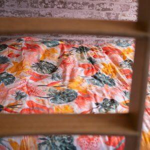 Calypso bedding detail