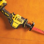 Pruning a Bush or Fending off Zombies? DeWalt One-Handed Reciprocating Saw